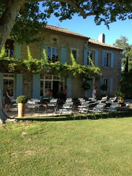 Setting for Provence gig with Craig Ogden